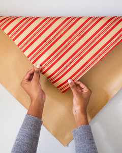 how to wrap a gift without tape