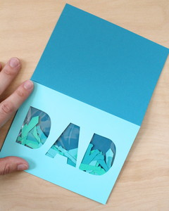 Father's Day confetti cards
