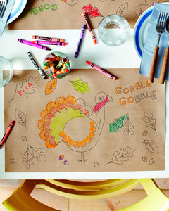 Thanksgiving Tables for Kids