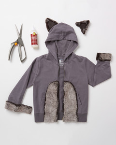 raccoon costume how-to