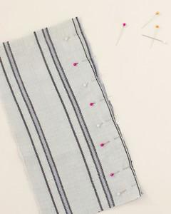pinning fabric of lavender eye pillow