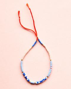 Single Seed Bead Bracelet