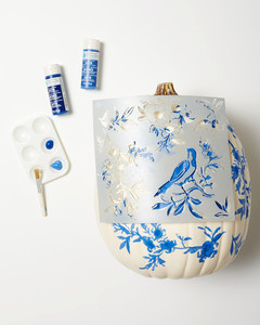 chinoiserie pumpkins step 2