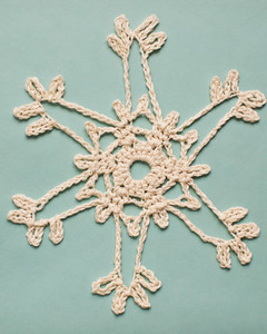 Crocheted Snowflakes | Martha Stewart
