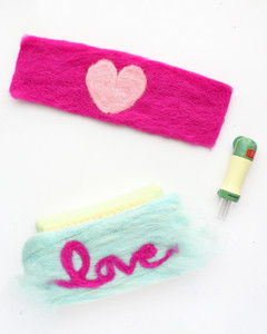 felted heart mug cozy how-to