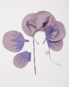 violet costume headband