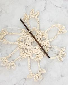 skinny snowflake pattern 2 step l
