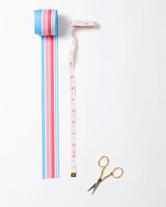 ribbon candy ornaments measuring