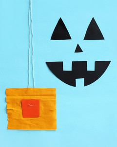 halloween pumpkin pinata making plug