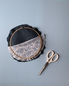 embroidery hoop organizer step 4