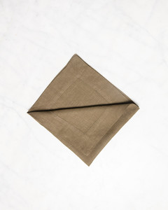 christmas tree napkin triangle half fold step five