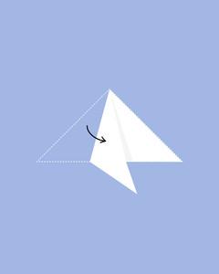 Easy Kirigami Snowflake Tutorial (6 Pointed) | Snowflake origami ... | 300x240