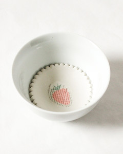 diy scalloped clay trinket dish step 3
