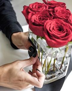rose centerpiece tape