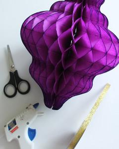 Eid al-Fitr honeycomb paper lantern materials