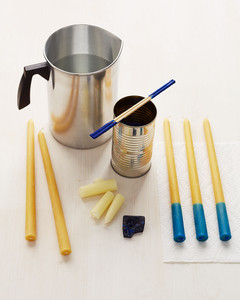 dipped candles