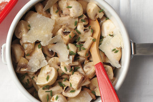 Marinated Mushrooms with Chives