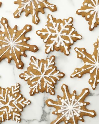 Gingerbread Snowflakes Video EH