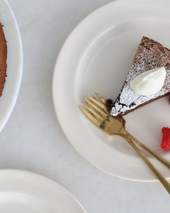 Flourless Chocolate-Almond Cake Video EDFSC
