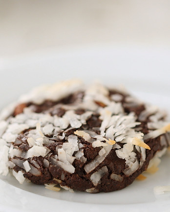 Almond-Coconut Chocolate Chewy Cookies EDF