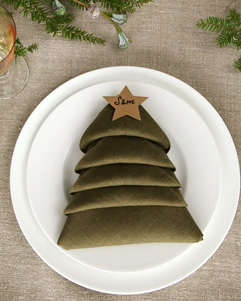 Christmas Tree Napkin Video Image