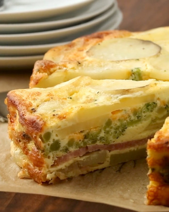 Ham-and-Potato Bake HO