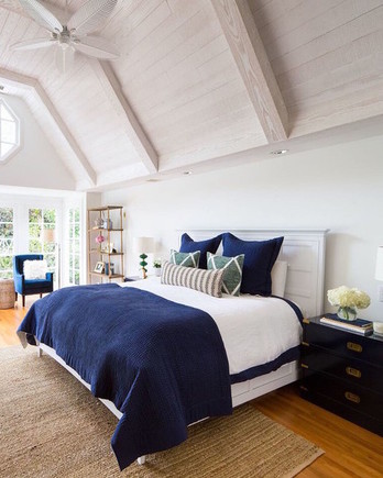 East Coast Meets West Coast With This Beautiful Bedroom Makeover