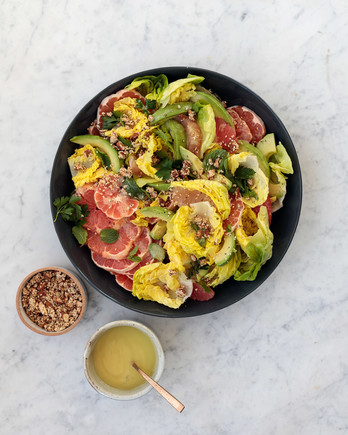 bib and citrus salad