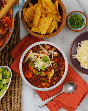 Vegetarian Black-Bean Chili EH