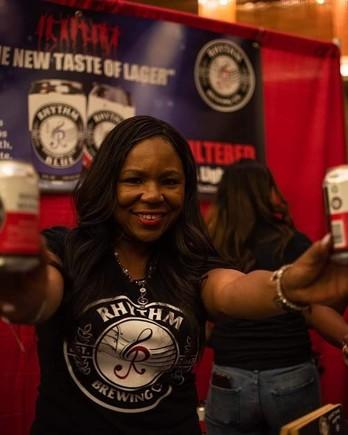 Alisa Bowens-Mercado, owner of Rhythm Brewing Co.