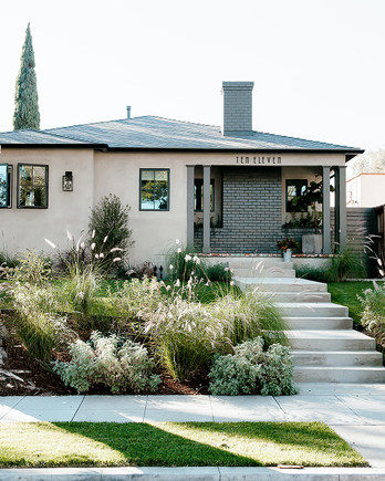 california house redo exterior shot