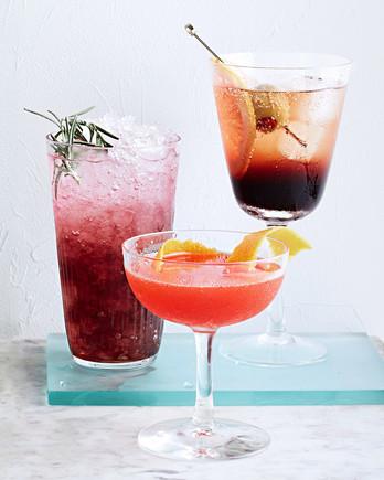 mirto and tonic cocktail
