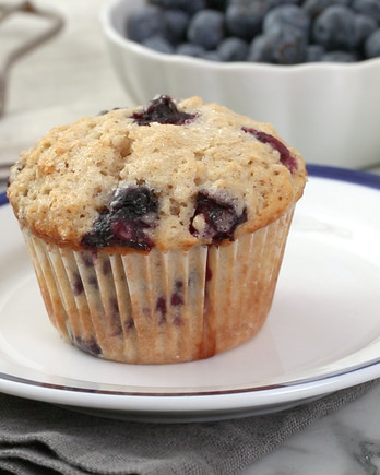 Blueberry Oatmeal Muffin