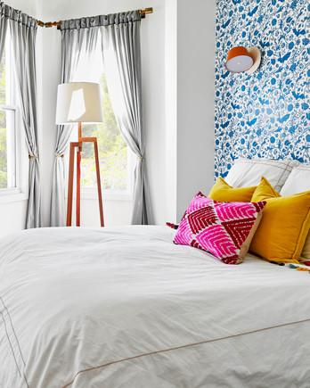 dania colorful home redo master bedroom