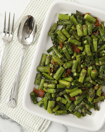 Sauteed Asparagus with Bacon Video EH