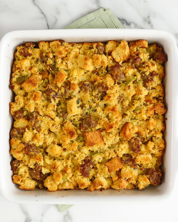 Cornbread and Sausage Stuffing EH