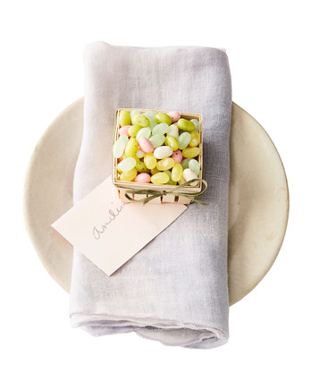 jelly bean basket favors