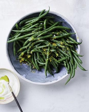 lemon pepper green beans