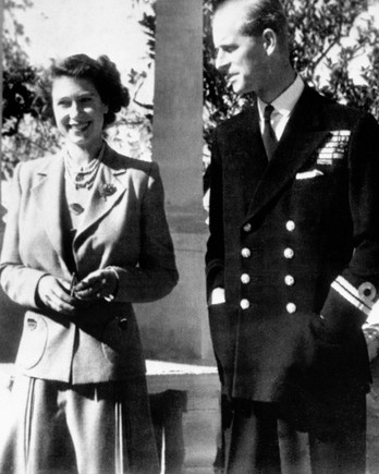 Queen Elizabeth and Duke of Edinburgh