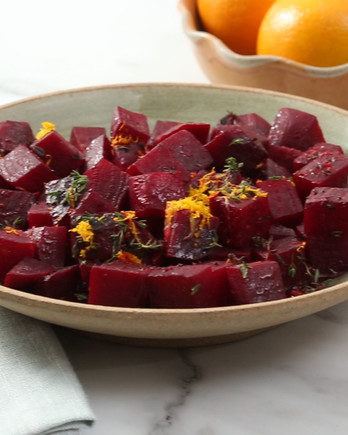 Roasted Beets with Orange and Thyme Video EH