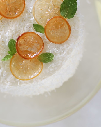 Meyer-Lemon Coconut Layer Cake Video ST