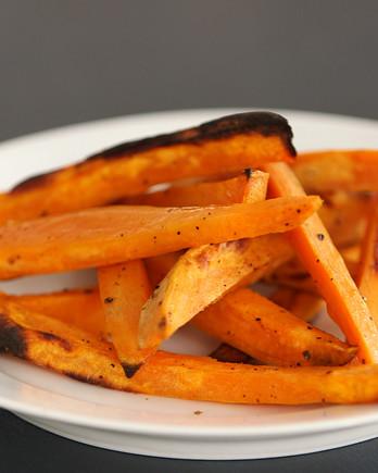 Crispy Oven-Baked Sweet Potato Fries Video KC