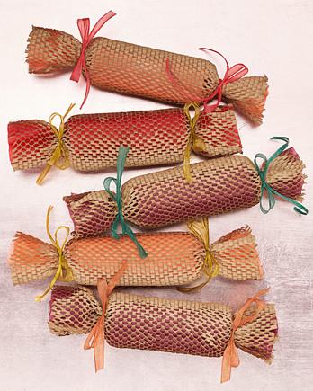 paper mesh gift wrap