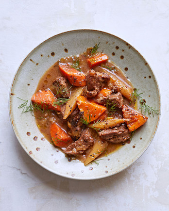 Light and Bright Beef Stew