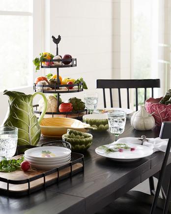 macys farmhouse table setting merch