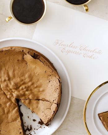 Flourless Chocolate Cake with Espresso EH