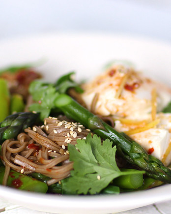 Soba-Noodle Bowl with Tofu Video HA