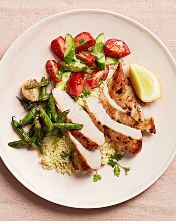 Lemon-Ginger Chicken and Green Beans