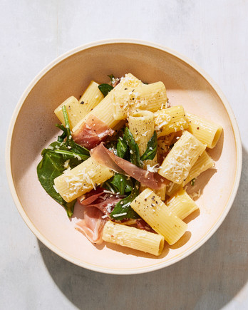 Prosciutto Carbonara with Spinach