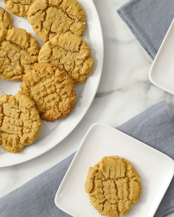 Easy Peanut Butter Cookies Video EH